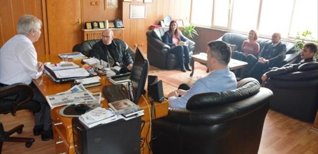 Keşan Belediye Başkanı Özcan'a ziyaret