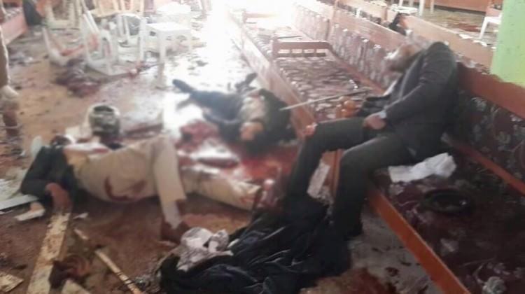 Camiye bombalı saldırı: 20 ölü