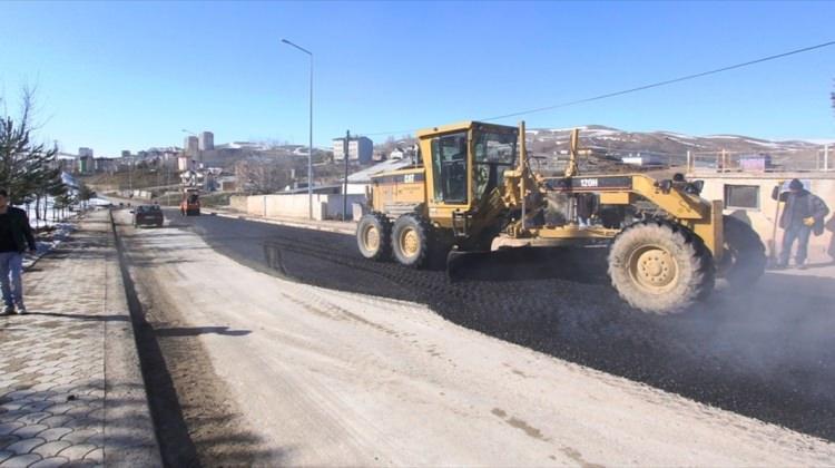 Bayburt Belediyesinin asfalt çalışmaları