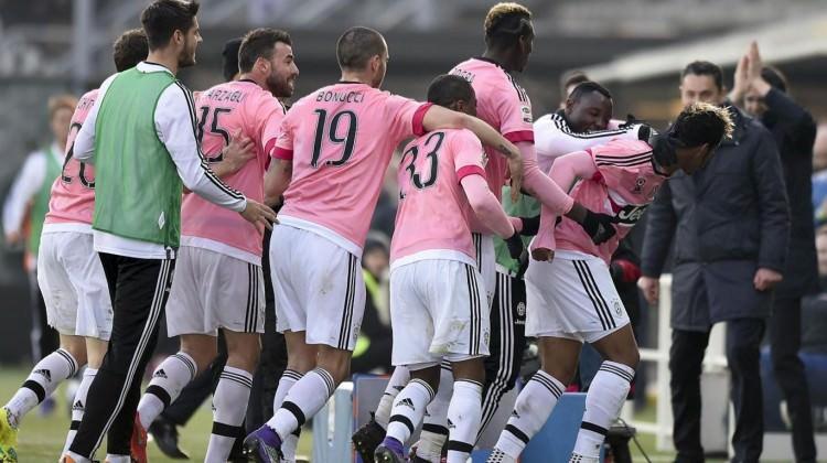 Juventus deplasmanda kayıp vermedi