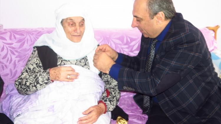 119 yaşındaki ninenin doğum günü kutlandı