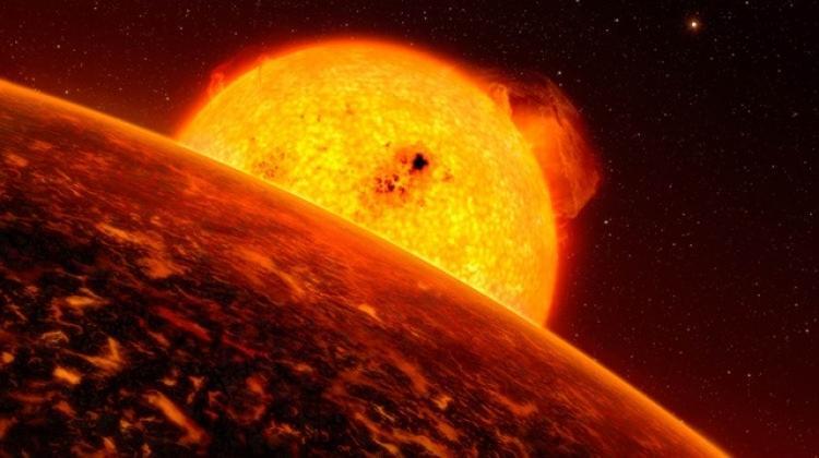 Ateş topu gezegen keşfedildi! - Uzay Haberleri