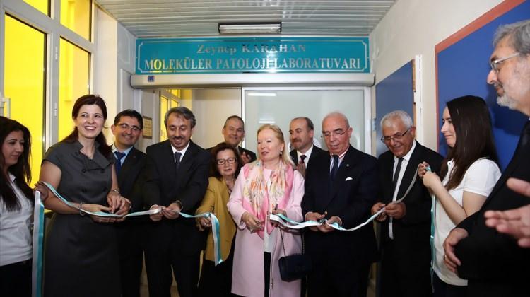 TÜ'de patoloji laboratuvarı açıldı