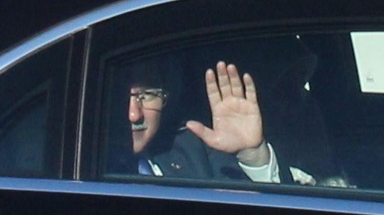 Davutoğlu'nun ilk veda ziyareti Genelkurmay'a