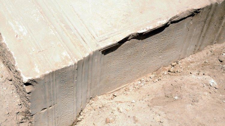 Aspendos'ta yeni bir yazıt bulundu
