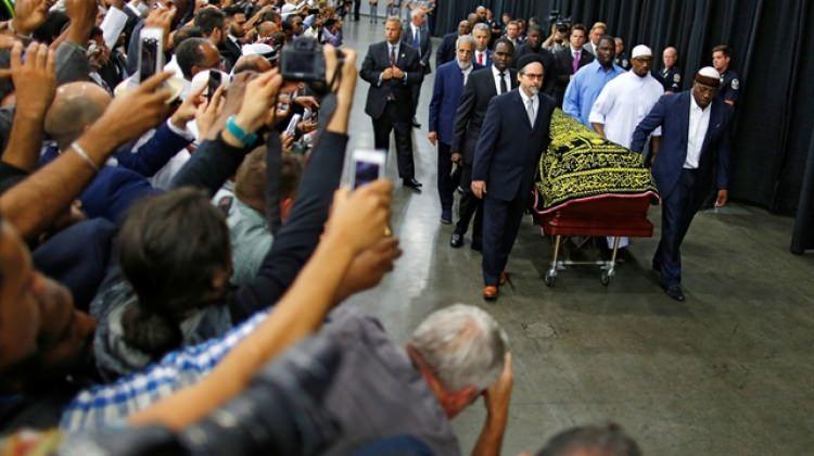 """Muhammed Ali'nin cenazesinde """"Itri"""" tekbirleri"""