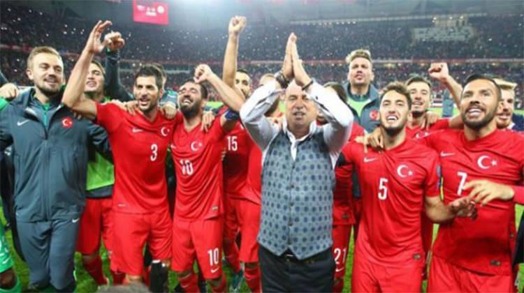 Slovenya-Türkiye maçı galibiyetle sonuçlandı