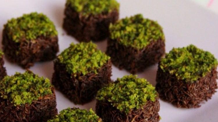 Çikolatalı kıtır kadayıf topları
