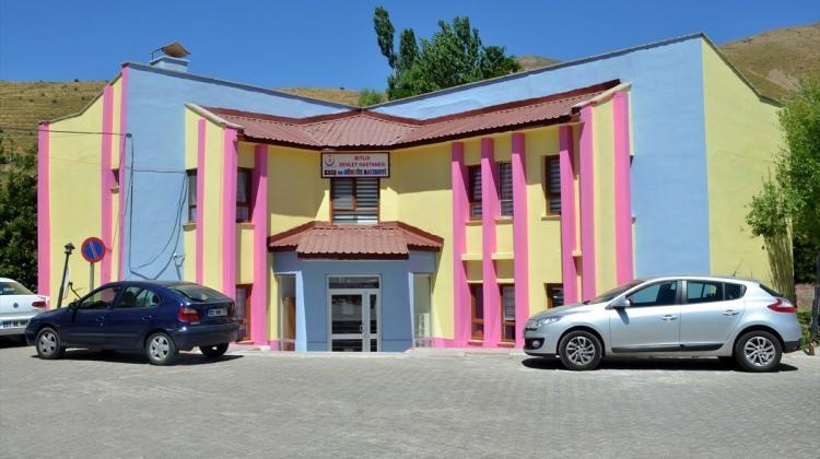 Bitlis'te 5 yıldızlı otel konforunda kreş