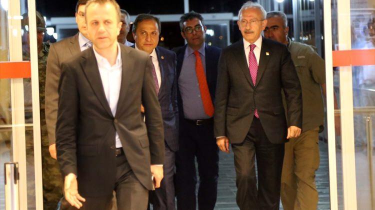 Kılıçdaroğlu'nun konvoyuna saldırı