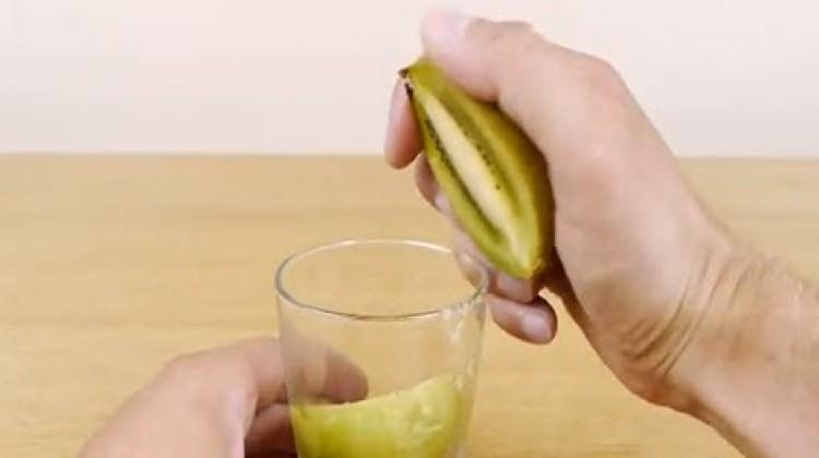 3 saniyede kivi ve mango soyabilir misiniz?