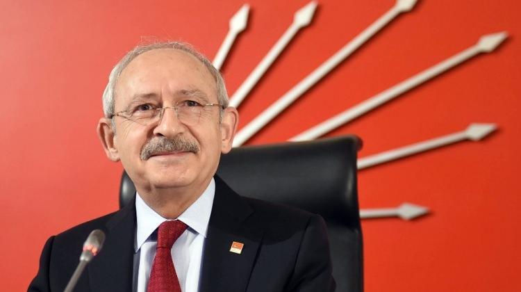 Kılıçdaroğlu, KESK heyetiyle görüştü