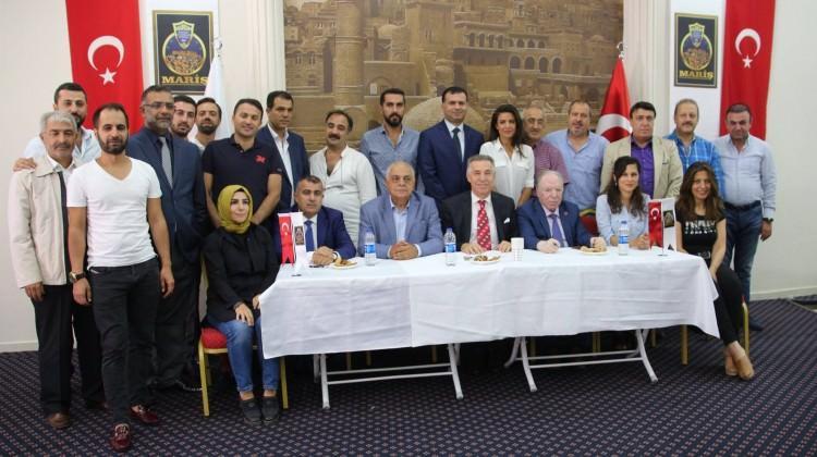 Mardinli iş adamları, Akkuş'u başkan seçti