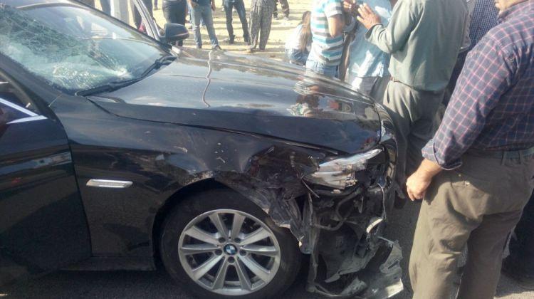 Burdur'da otomobil motosiklete çarptı: 1 ölü