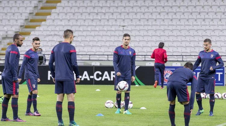 Braga, Atiker Konyaspor maçının hazırlıklarını tamamladıa hazır