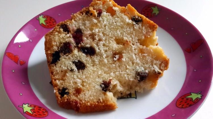 Gojiberry'li kek tarifi