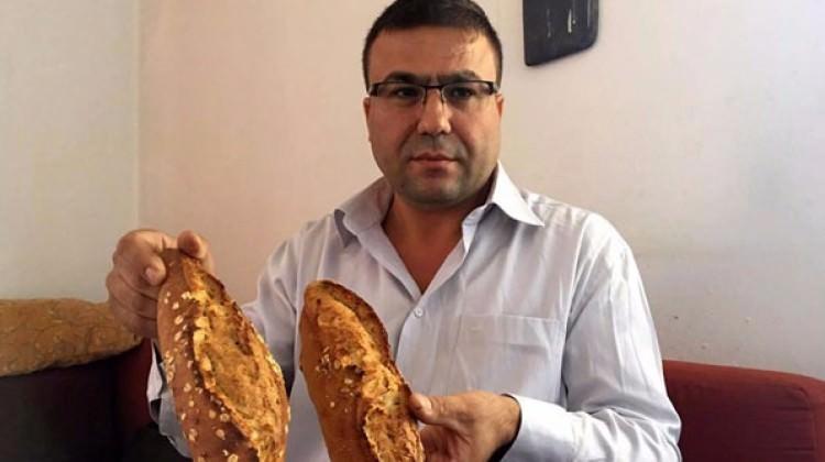 Zayıflamak için yediği ekmeği üretti!