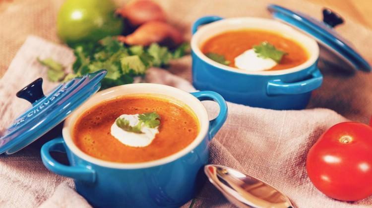 Kişnişli domates çorbası tarifi