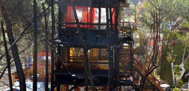 Ormanlık alandaki işletmelerde yangın