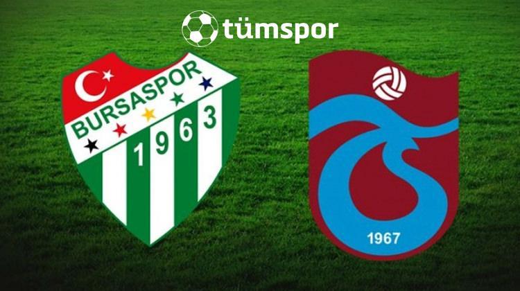 Bursaspor Trabzonspor maçını canlı izle | Beinsports