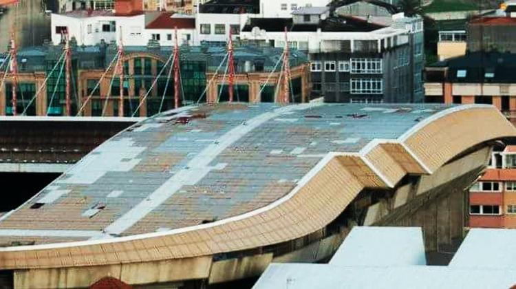 Stadın çatısı çöktü! Maç iptal oldu