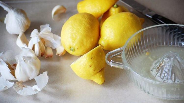 Sarımsak ve limon karışımının faydaları