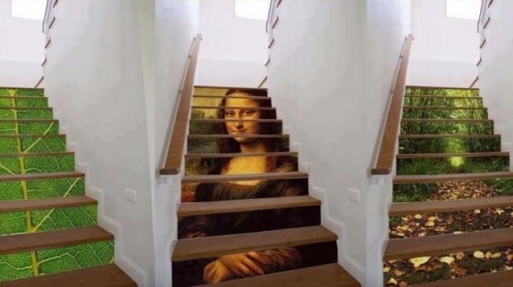 Evinizde böyle bir merdiveniniz olsaydı...