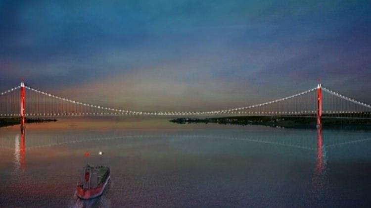 İşte Çanakkale Köprüsü'nün ilk görselleri