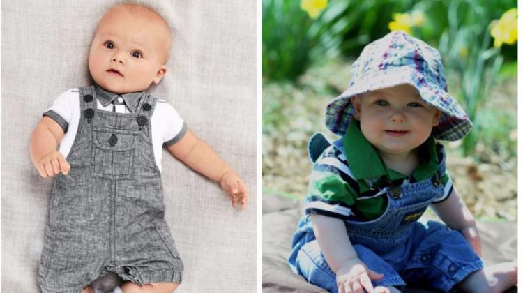 Bebekler tulumlarla daha bir şık!