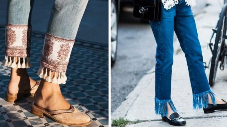 Sokak modasında yeni trend: Püskül paça