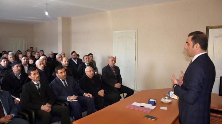 Kaymakam Alibeyoğlu imamlarla buluştu