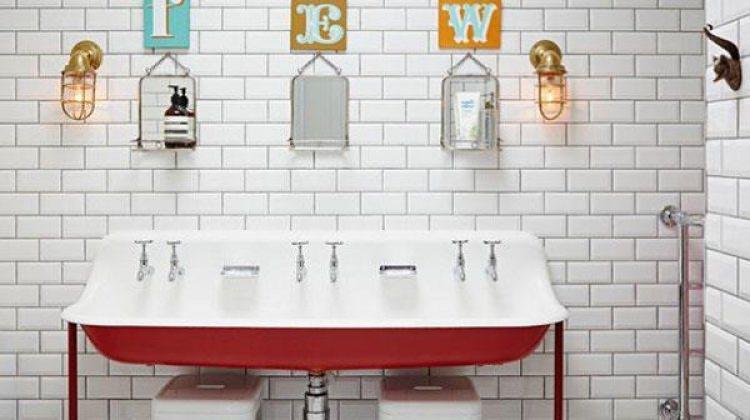 """Banyolarda """"Vintage"""" esintiler"""