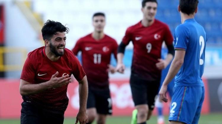 Ümit Milliler Azerbaycan'ı farklı geçti