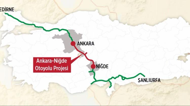 Ankara-Niğde Otoyolu ihalesi yarın yapılacak