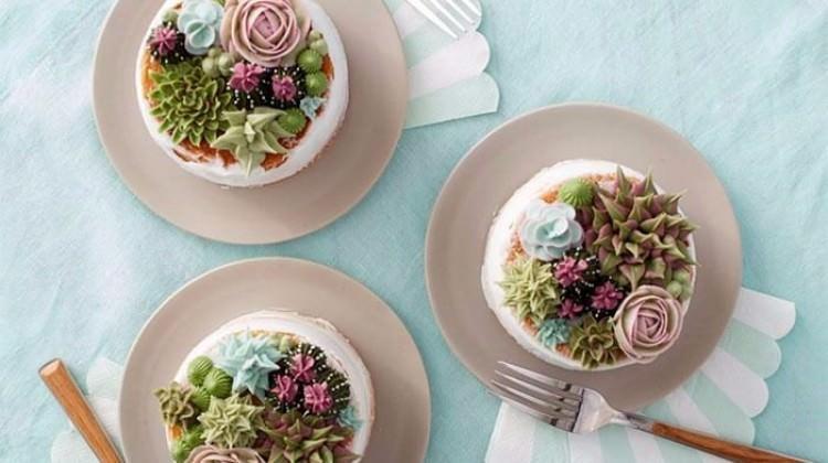 Baharın gelişini çiçekli pastalarla kutlayın