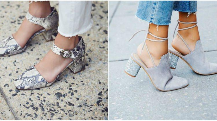 Blok topuk ayakkabılar nasıl kombinlenir?