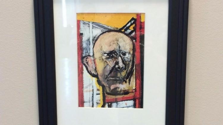 Alzheimer hastası ressam kendini böyle çizdi!