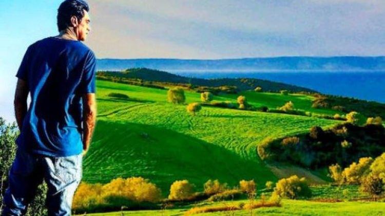 Burak Hakkı Çanakkale'de çiftlik kurdu