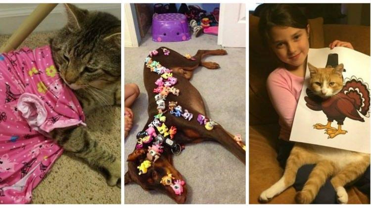 Evcil dostlarına bir de çocukların gözünden bakın!