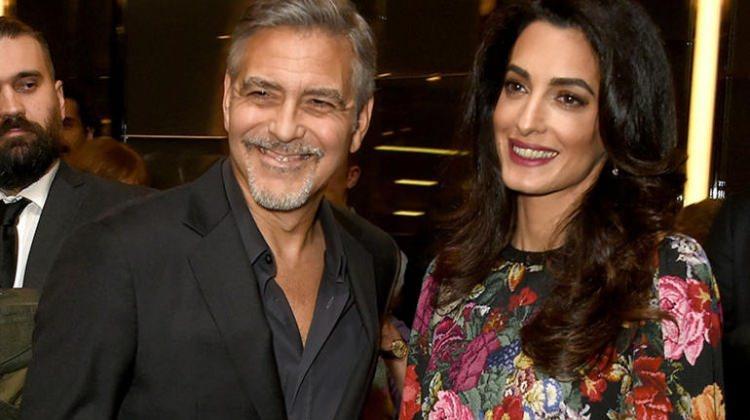 George-Amal Clooney bebekleri için servet ödeyecek