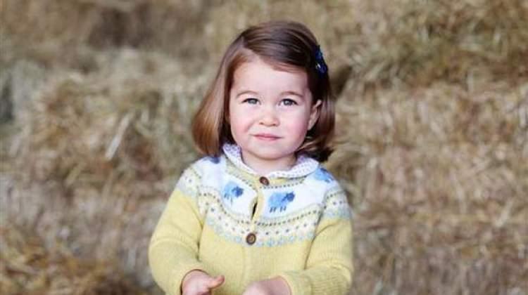 İngiltere'nin prensesi Charlotte 2 yaşına giriyor