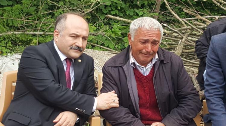 MHP'li Usta'dan şehit ailelerine ziyaret
