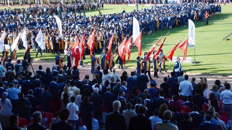 MSKÜ'de mezuniyet heyecanı