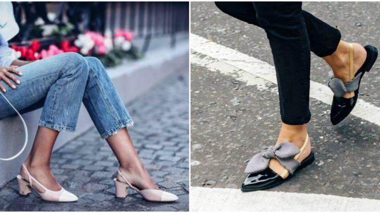 Sezonun yeni trendi: Slingback ayakkabılar