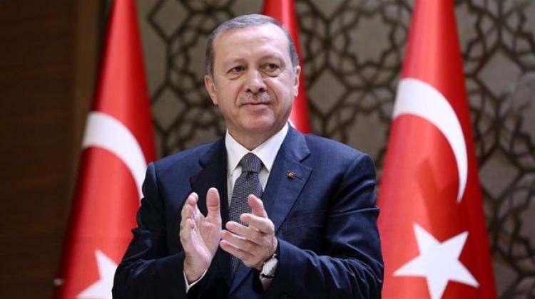 Erdoğan'dan şampiyonlara tebrik
