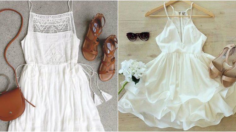 2017 yazının yeni gözdesi: Beyaz elbiseler