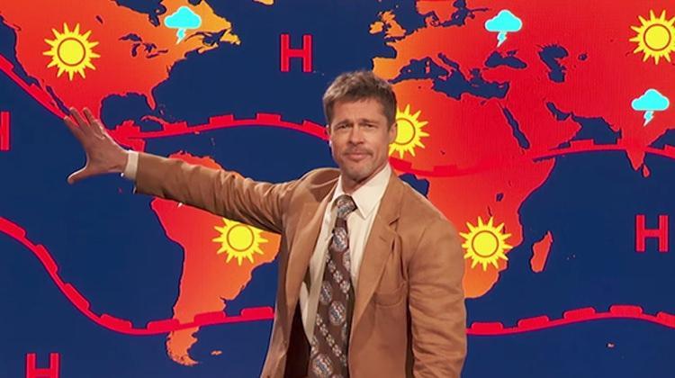 Brad Pitt hava durumu sundu