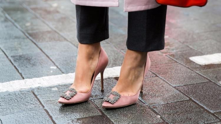 Kristal taşlı topuklu ayakkabı modelleri