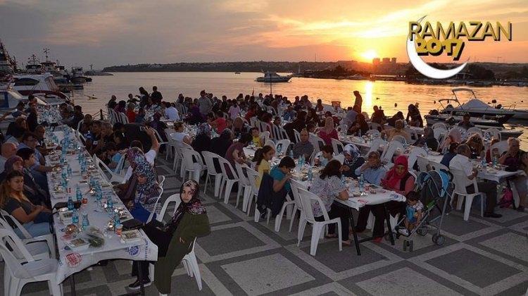 İBB'den 15 bin kişilik iftar