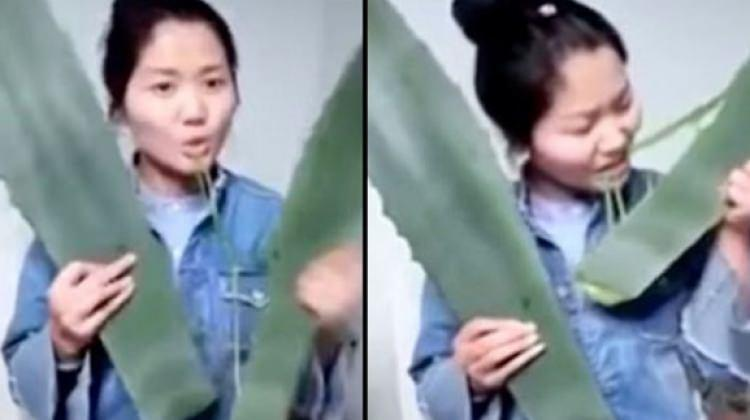 Çinli Vlogger canlı yayında zehirlendi